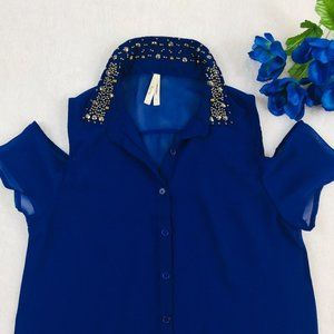 TRUTH NYC WOMEN'S SIZE SMALL BLUE ROYAL